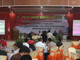 Polda Lampung Gelar FGD Menuju Pemilu Damai dan Sejuk