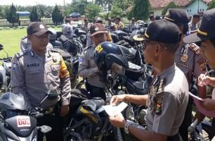 Polda Lampung Gelar Pengecekan Randis Bhabinkamtibmas Polres Tulangbawang