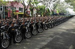 Polda Lampung SiapkanPengaman Metode Terbuka dan Tertutup