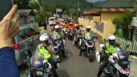 Polda Road Show Kampanye Keselamatan Berkendara ke Pantai Mutun