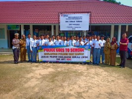Police Goes to School Sosialisasikan UU Lalu Lintas dan ITE