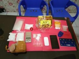 Polisi Amankan 1,5 Kg Sabu dari Warga Urip Sumoharjo
