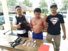 Polisi Amankan 32 Paket Sabu Siap Edar dari Warga Waypengubuan