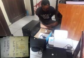 Polisi Bongkar Sindikat Pemalsu SKCK di Tulangbawang Tengah