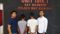 Polisi Ciduk Dua Pelaku Pemerasan di Jalan Lintas Tengah Sumatera