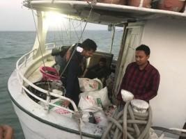 Polisi Gagalkan Penyelundupan 2 Karung Berisi Sabu dan Ekstasi