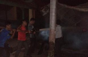 Polisi Masih Selidiki Kebakaran di SMPN I Sungkai Selatan