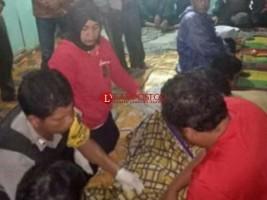 Polisi Olah TKP Korban Bunuh Diri di Ulu Belu