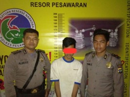 Polisi Ringkus Bandar Sabu di Desa Bernung