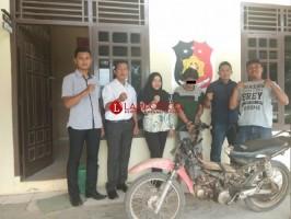Polisi Ringkus DPO Curat Di Way Kanan