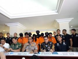 Polisi Ringkus Lima Pengeroyok Tentara