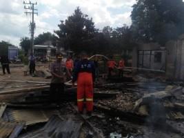 Polisi Selidiki Kasus Pembakaran Warung Milik Warga Umpu Kencana
