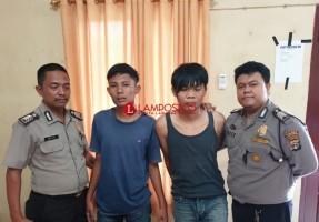Polisi Tangkap 2 Pelaku Curanmor di Tulangbawang Tengah