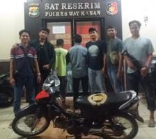Polisi Tangkap Dua Pelaku Penadah Hasil Pencurian Kendaraan Bermotor
