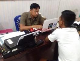 Polisi Tangkap Kurir Sabu usai Transaksi di Kotabumi