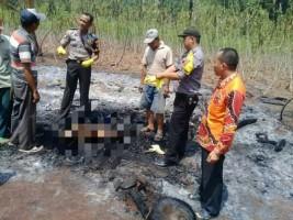 Polisi Temukan Jasad Hangus di Gubuk Sungkai Utara