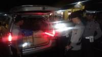 Polres Lambar Razia di Jalan Barat Krui-Bengkulu