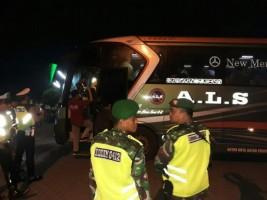 Polres Lampung Utara BersamaTNI Gelar Patroli dan Razia