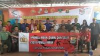Polres Lampung Utara BersamaTNI Siap Amankan Pemilu Serentak 2019