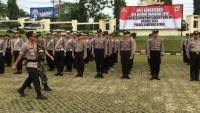 Polres Lampung Utara Gelar ApelKonsolidasi Kesiapan Sidang PHPU MK Pilpres 2019
