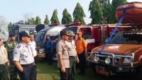 Polres Lampung Utara Gelar Apel Siaga Bencana
