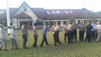 Polres Lampung UtaraGelar Halal Bihalal