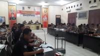 Polres Lampung Utara Gelar Latihan Pra Operasi Bina Kusuma Krakatau 2018