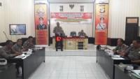 Polres Lampung Utara Gelar Lat Pra Ops Lilin Krakatau 2018