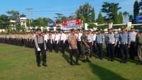 Polres Lampung Utara Gelar Pasukan Ops Mantap Brata