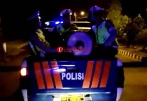 Polres Lampung Utara Gelar Patroli Jelang Subuh