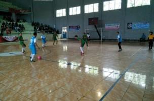 Polres Lampung Utara Gelar Pertandingan Persahabatan Futsal Galaxy Cup