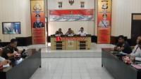 Polres Lampung Utara Gelar Rapat Koordinasi CJS