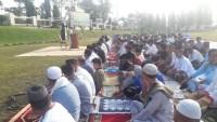 Polres Lampung Utara Gelar Salat Idul Fitri 1440 H