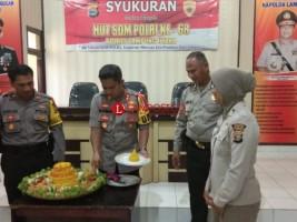 Polres Lampung Utara Gelar Syukuran HUT Ke-68 SDM Polri