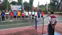 Polres Lampung Utara Gelar Turnamen Tenis Kapolres Cup