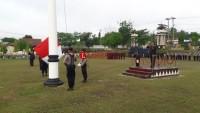 Polres Lampung Utara Gelar Upacara Peringatan Hari Pahlawan