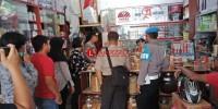 Polres Lampung Utara Razia Sejumlah Pasar Penjual Miras dan Petasan