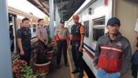 Polres Lampung Utara Tingkatkan Pengamanan Stasiun Kereta Api