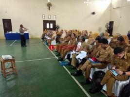Guru SD dan SMP di Lampura Dibekali Kurikulum Tertib Berlalulintas