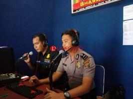 Polres Lampura Gencar Imbau Kamtibmas lewat Radio