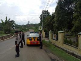 Polres Lampura Patroli Jalan Raya Rawan Kejahatan