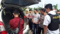 Polres Lampura Serahkan Mobil Dufi ke Polsek Kelapa Nunggal Polres Bogor
