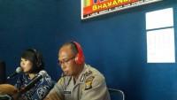 Polres Lampura Sosialisasi Penerimaan Anggota Polri melalui Radio
