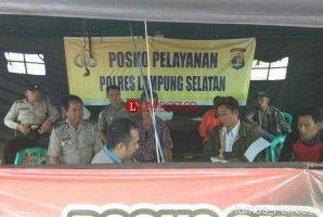 Polres Lamsel Buka Pos SPKT di Desa Way Muli