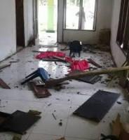 Polres Lamsel Dalami Kasus Pengerusakan Pintu Kantor Desa Kedaton