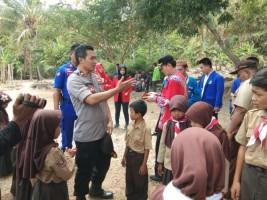 Polres Lamsel Gandeng Organisasi Mahasiswa Gelar Baksos di Ketapang