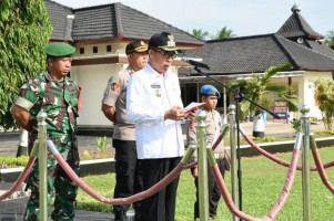 Polres Lamtim Gelar Apel Pasukan Pengamanan Pemilu 2019