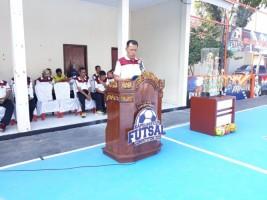 Polres Lamtim Gelar Turnamen Futsal Kapolres Cup