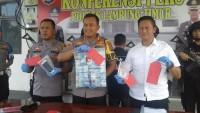 Polres Lamtim Ungkap OTT Pungli Bantuan Alsintan
