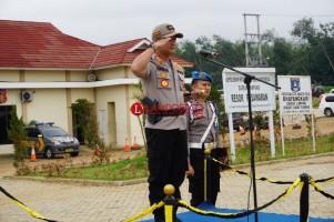 Polres Pesawaran Gelar Apel Pasukan Operasi Lilin 2018